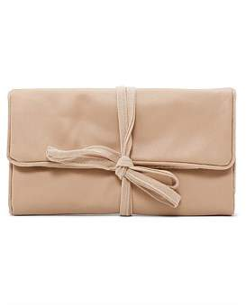 Gregory Ladner Leather Look Jewellery Roll