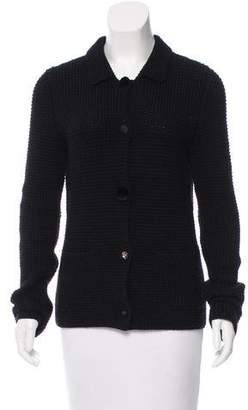 Lanvin Wool Button-Up Cardigan
