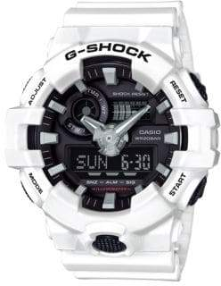 Casio G Shock Analog Resin Watch