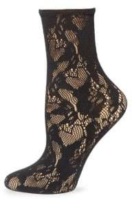 Wolford Lace Crew Socks