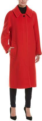 Burberry Oversized Wool-Blend Coat