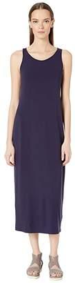 Eileen Fisher Scoop Neck F/L Dress