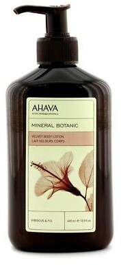 Ahava NEW Mineral Botanic Velvet Body Lotion - Hibiscus & Fig 400ml Womens Skin