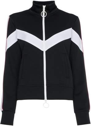 Off-White zip-up track jacket