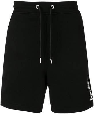 Just Cavalli logo track shorts