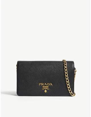 Prada Core Saffiano leather wallet-on-chain