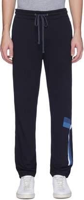James Perse Graphic stripe sweatpants