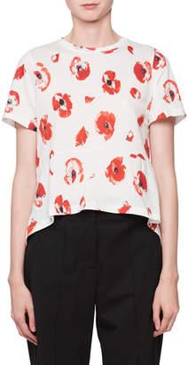 Proenza Schouler Poppy-Print T-Shirt