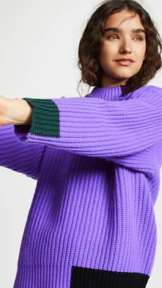 Victoria Beckham Victoria Contrast Trim Sweater