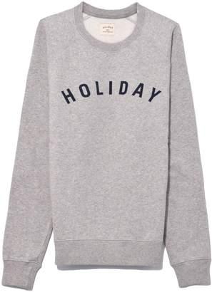Holiday Logo Sweatshirt in Grey