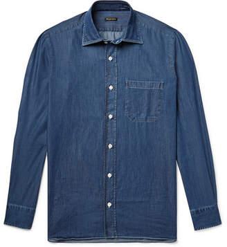 Rubinacci Cotton-Chambray Shirt