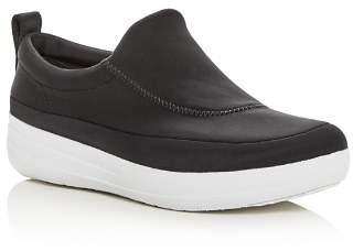 FitFlop Women's Freeflex Slip-On Platform Wedge Sneakers