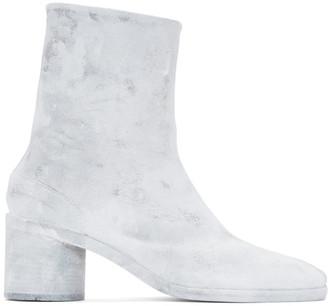 Maison Margiela White Bianchetto Tabi Boots