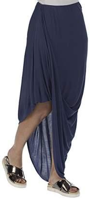 Bench Women's Asymmetric Skirt - Blue