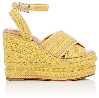 ANTOLINA Women's Candelaria Cotton Platform-Wedge Sandals