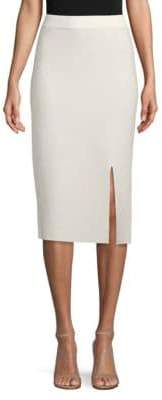 Jonathan Simkhai Micro Striped Knit Pencil Skirt