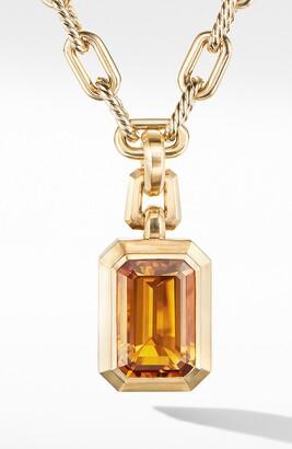 David Yurman Novella Pendant in 18K Yellow Gold