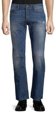 Diesel Safado Distressed Cotton Jeans