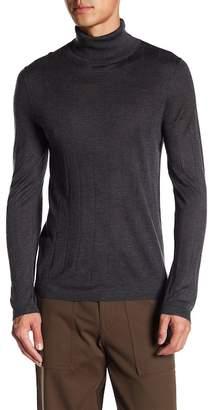 Theory Turtleneck Knit Long Sleeve Shirt