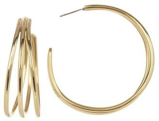 Soko Triple Band Hoop Earrings