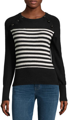 A.N.A a.n.a Long Sleeve Front Buttons Pullover Sweater $19.99 thestylecure.com