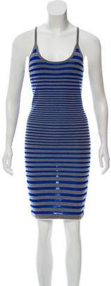 Alexander Wang Striped Knee-Length Dress w/ Tags