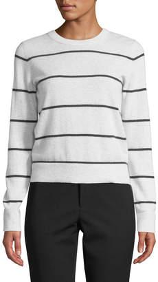 c39e524500fc Vince Striped Cashmere Pullover Sweater