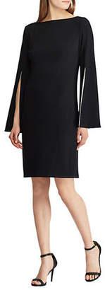 Lauren Ralph Lauren Slim Fit Jersey Split-Sleeve Dress