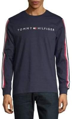Tommy Hilfiger Long-Sleeve Logo Tee