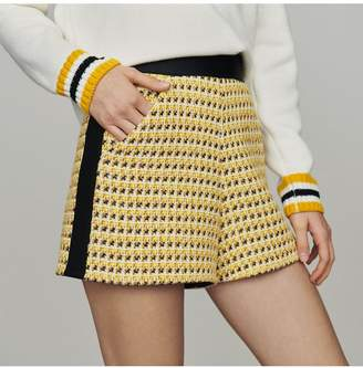 Maje Shorts In Tweed And Lurex