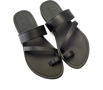 NEW Grecian goddess in black Women's by Banjarans Leather Sandals