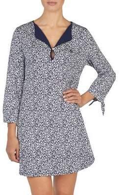 Lauren Ralph Lauren Floral Short Gown