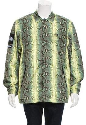 The North Face x Supreme 2018 Snakeskin-Print Jacket