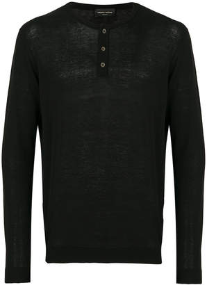 Roberto Collina long sleeved sweatshirt