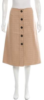 Marc Jacobs Button-Up Midi Skirt