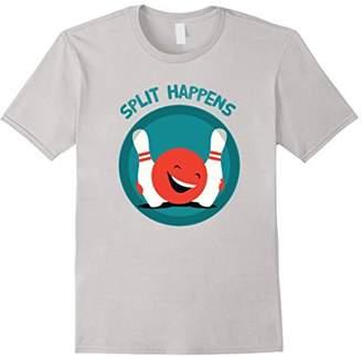 Split Happens - Funny Bowling T-shirt
