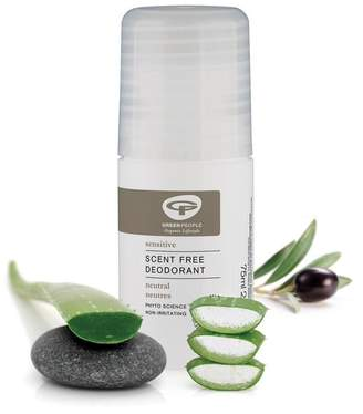 Green People Organic Roll On Deodorant Unscented 75ml - No Colour