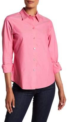FOXCROFT Long Sleeve Shaped Diane Shirt $79 thestylecure.com