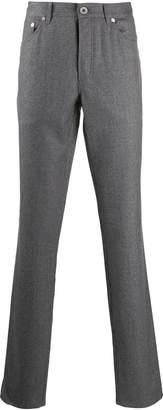 Brunello Cucinelli straight fit trousers