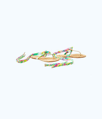 Lilly Pulitzer Womens Harbor Sandal