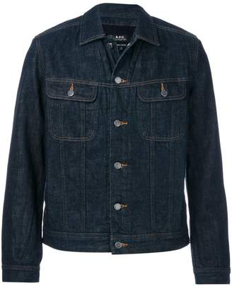 A.P.C. button-up denim jacket