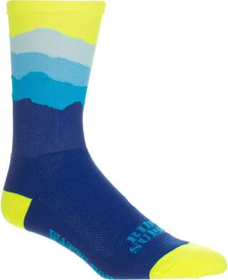 DeFeet Ridge Supply Skyline Aireator Hi Top 6in Sock