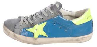 Golden Goose Leather Distressed Sneakers