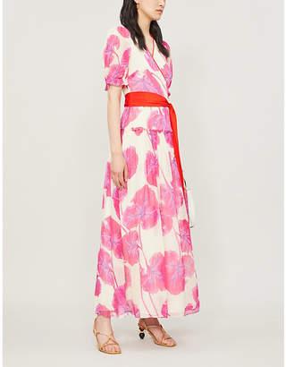 Diane von Furstenberg Breeze floral-print silk wrap dress