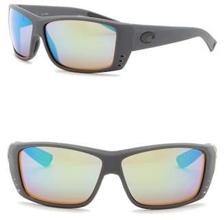Costa del Mar Cat Cay Polarized 61mm Wrap Sunglasses