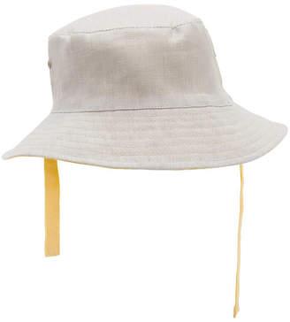 Elegant Baby Linen-Blend Hat