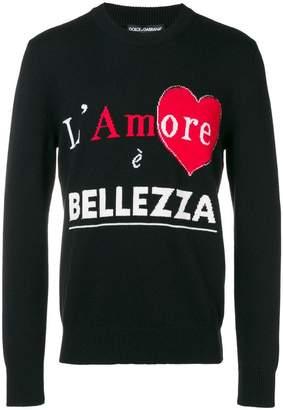 Dolce & Gabbana L'Amore È Bellezza jumper