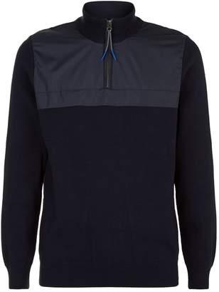 Barbour Half Zip Sweater