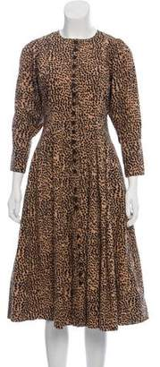 Ulla Johnson Printed Midi Dress