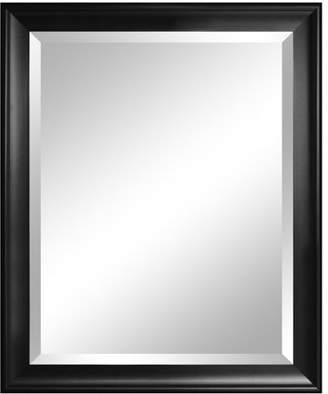 Alpine Art & Mirror Symphony Black Beveled Wall Mirror - 28W x 34H in.